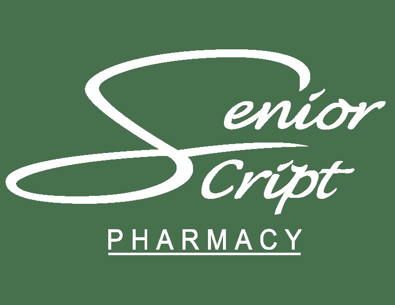 Senior Script Pharmacy Logo white